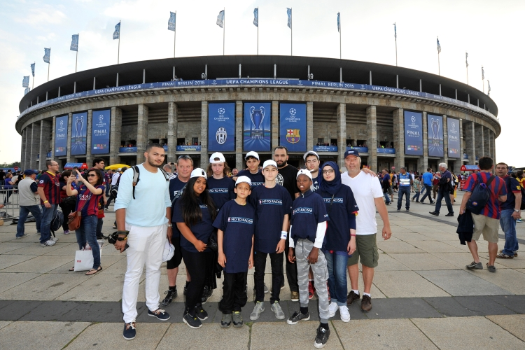 BERLIN, GERMANY - JUNE 06: The UEFA Champions League Final on June 6, 2015 in Berlin, Germany. (Photo by Harold Cunningham/Getty Images for UEFA)