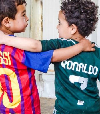Le quotidien des enfants au camp de Za'atari