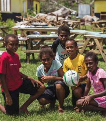 La Fondation UEFA pour l'enfance à déjà tout d'une grande
