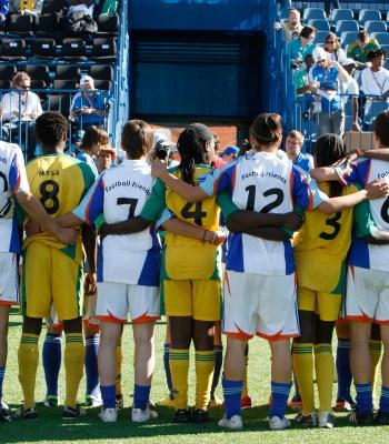 Le festival Streetfootballworld débute à Lyon
