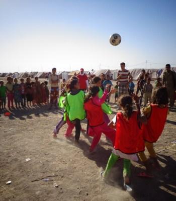 La Fondation UEFA défend les droits des enfants réfugiés
