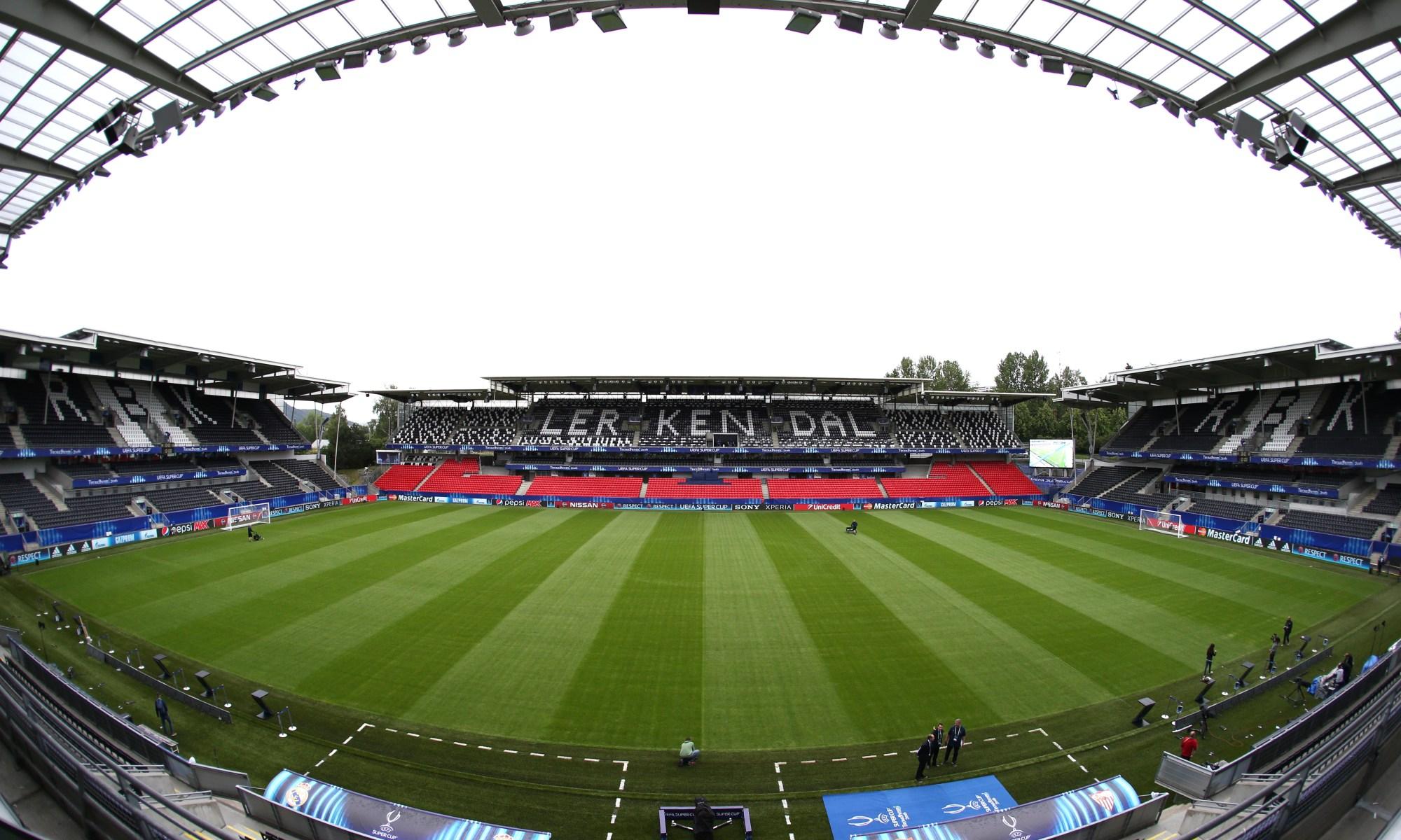 Stadium of Trondheim - Norway
