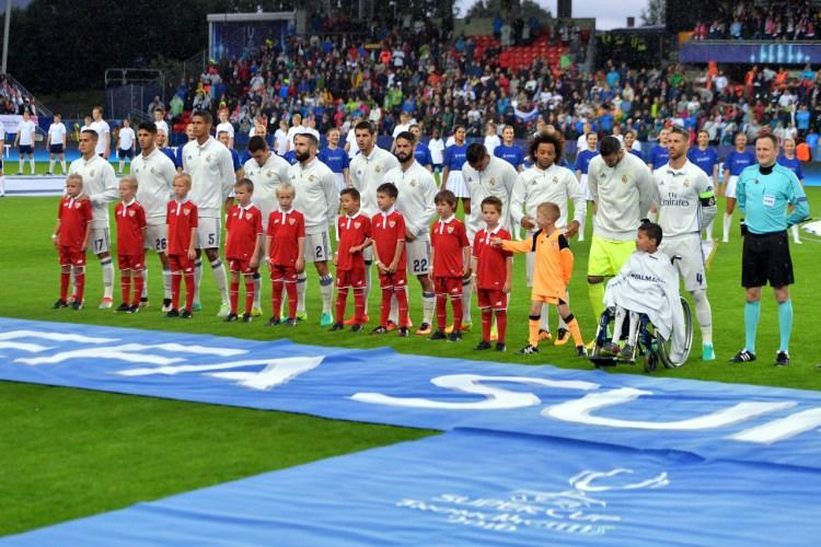 Finale de la UEFA Super Coupe, 9 août 2016 à Trondheim, Norgève