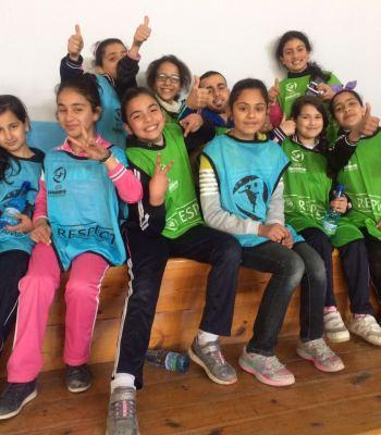 <b>Kick For Hope : </b>cours pour entraîneurs de football à Karak