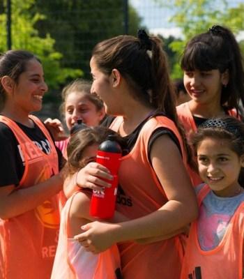 <b>Le football pour </b>favoriser l'intégration