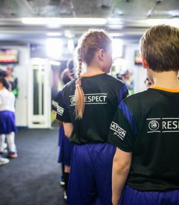 Le rêve de <b>l'UEFA Europa League</b> devient réalité pour des enfants de la ville hôte