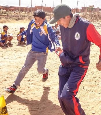 Le sport pour l'inclusion des enfants en situation de handicap en Bolivie