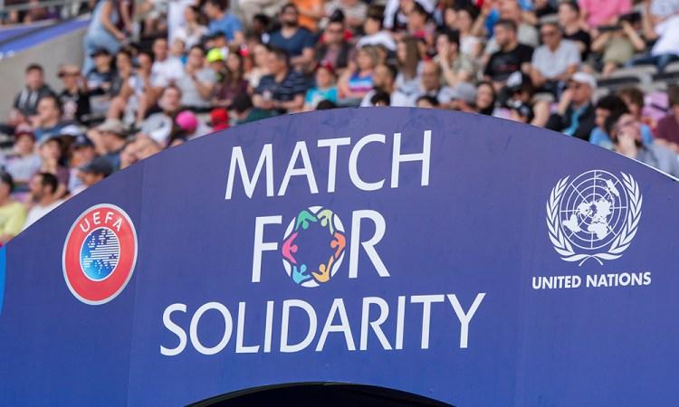 <b>Le Match pour la Solidarité</b>  aide les enfants en situation de handicap dans le monde entier