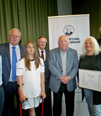 Le projet allemand <b>Ampukids</b> récompensé par le Prix de la Fondation UEFA pour l'enfance 2018