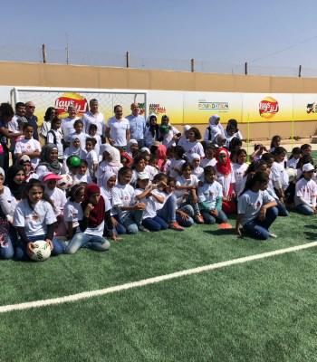 <b>Deux nouveaux terrains de football synthétiques </b>pour les résidents des camps de réfugiés de Za'atari et d'Azraq