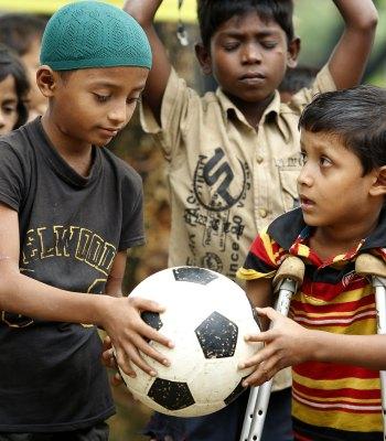 Sport inclusif pour le développement au Bangladesh