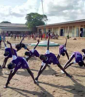 Football pour l'éducation en matière de santé