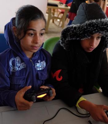 Tournoi eSport des réfugiés