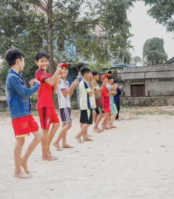 La Fondation UEFA pour l'enfance aide les enfants des rues au Vietnam