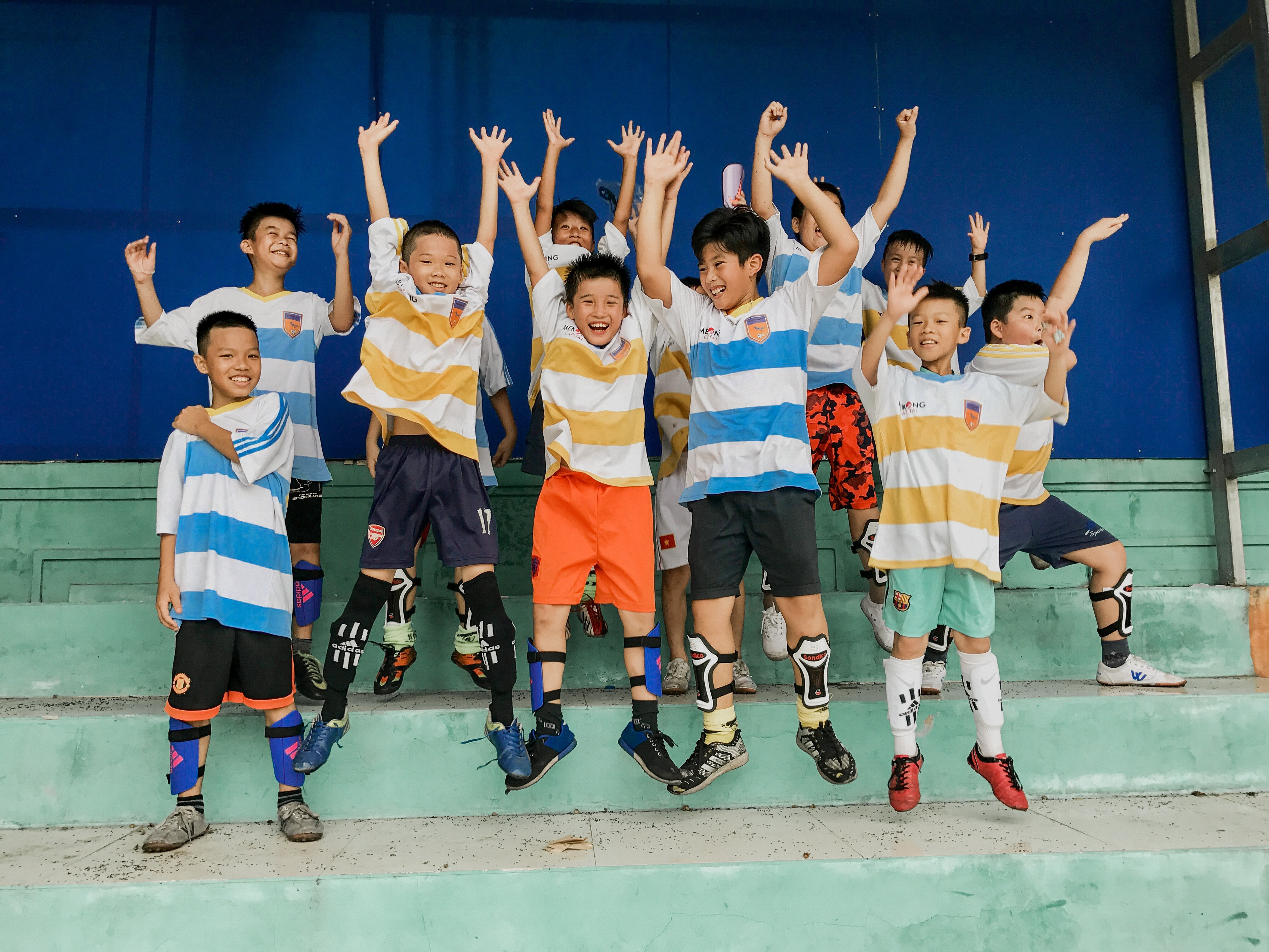 Blue Dragon-Football Team