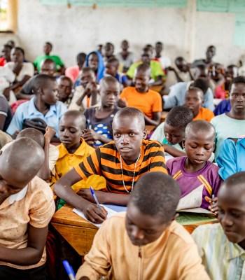 Apporter le changement dans le camp de réfugiés de Palabek