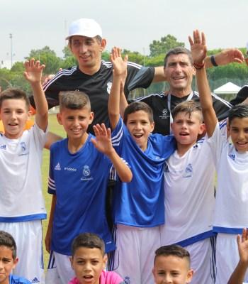 Les fondations de l'UEFA et du Real Madrid viennent en aide aux enfants défavorisés à travers l'Europe