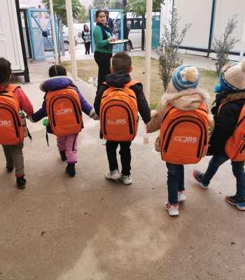 Un espace sûr pour les jeunes Yézidis déplacés