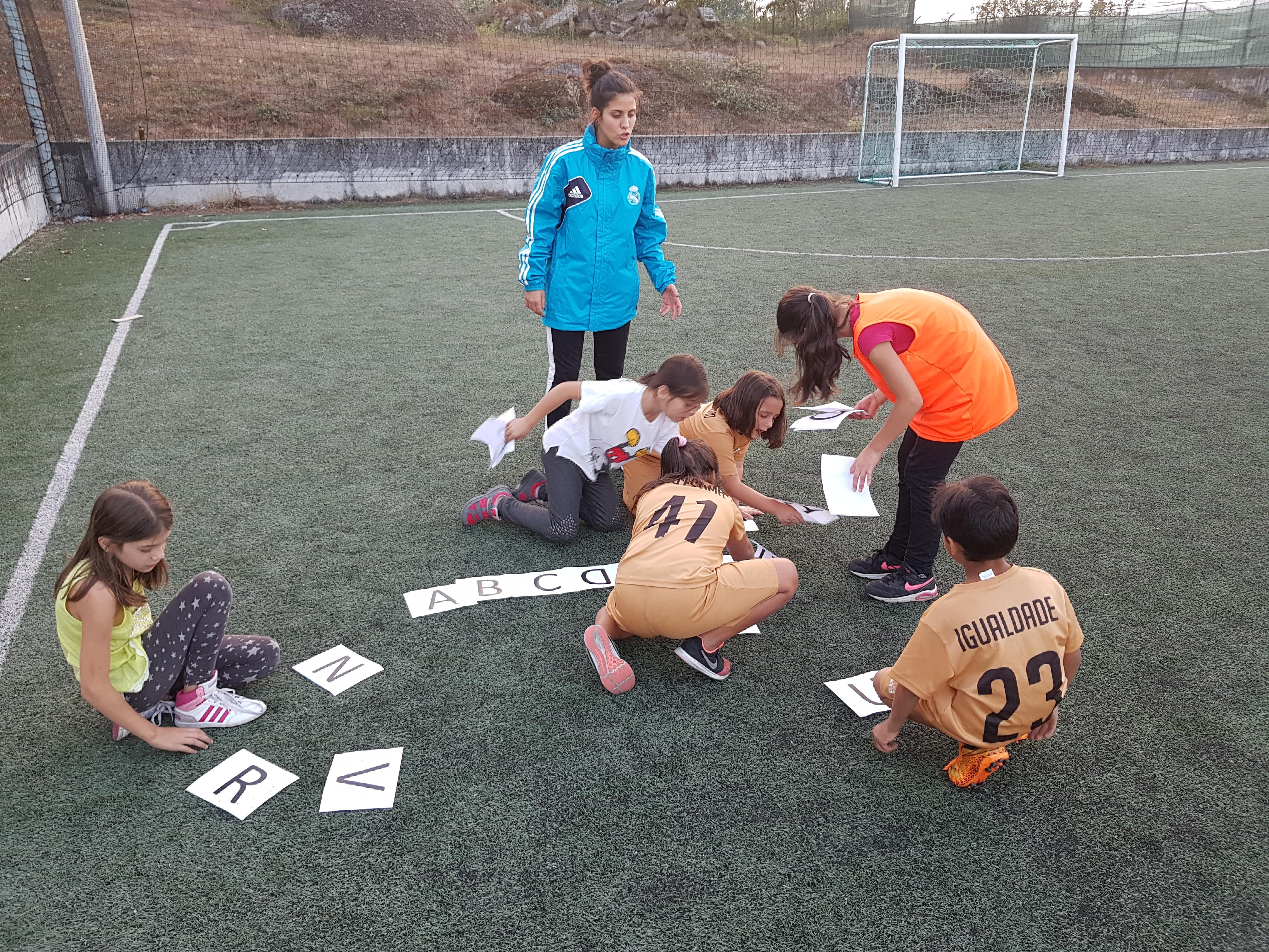 Real Madrid - Social sports school in Guimaraes- educative activity