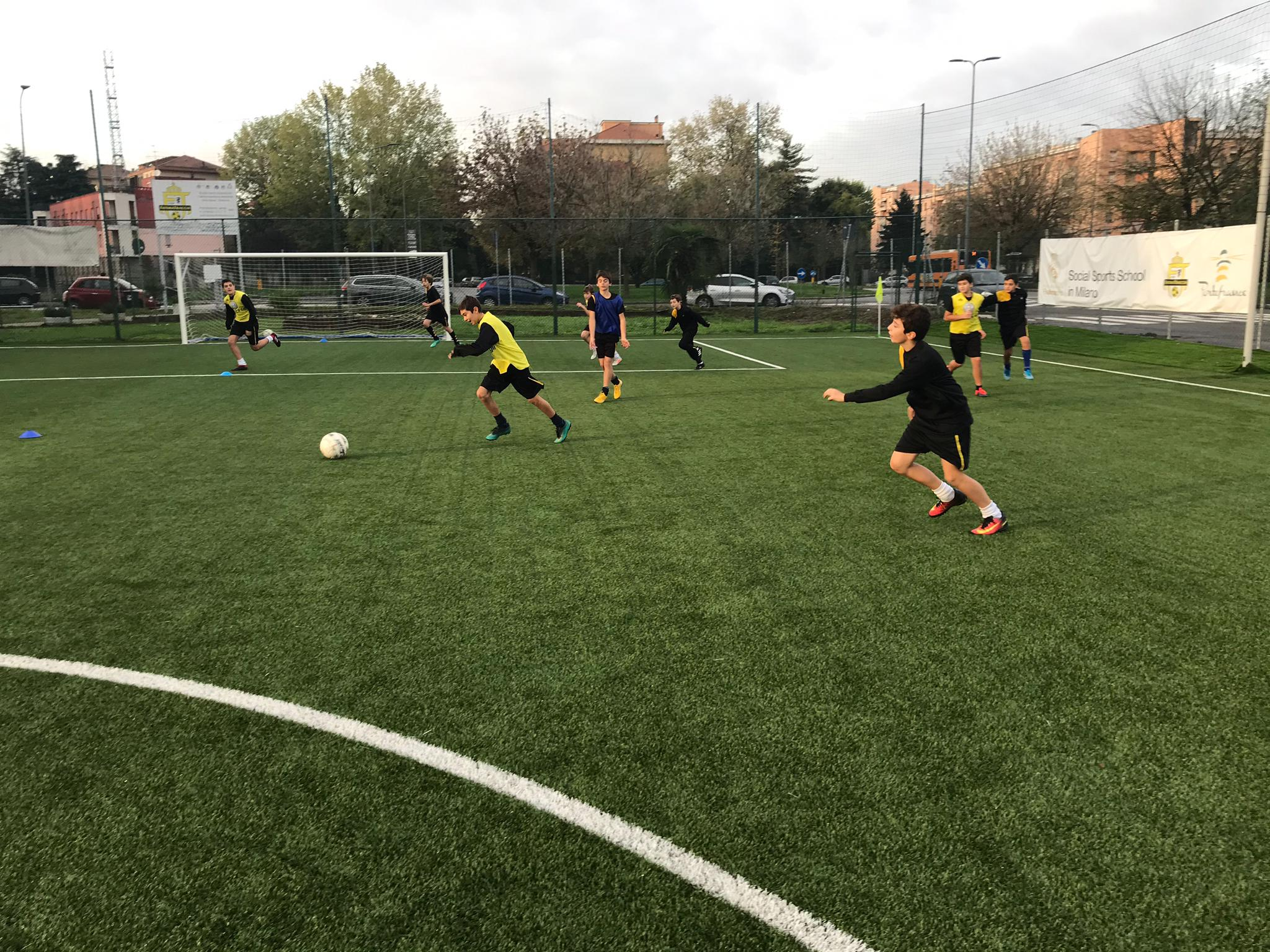 Real Madrid - social sports school in Milano