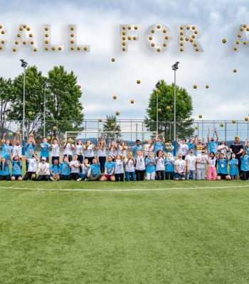 Adopt a Ball for All (Adopte un ballon pour tous)