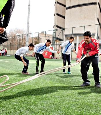 Du fun football pour les enfants de Syrie