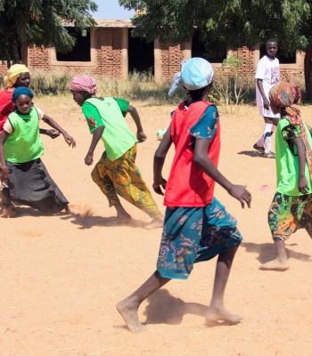 Sport pour les réfugiés et lancement de programmes d'éducation de la petite enfance au Tchad