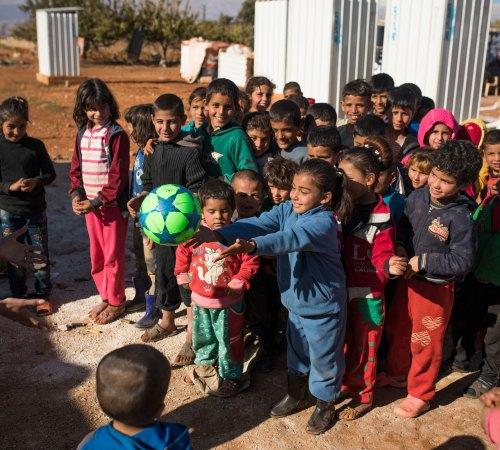 Victimes de conflits et réfugiés